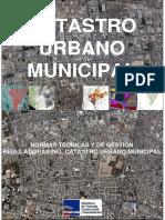 RM 155-2006-VIVIENDA NORMAS TECNICAS Y GESTIÓN REGULADORAS DEL CATASTRO URBANO MUNCIPAL.pdf