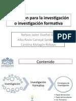 Investigacion Formativa 2