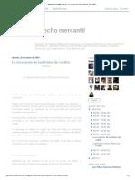 DERECHO MERCANTIL_ La Circulación de Los Títulos de Crédito
