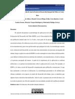 Metodología de aplicación de una la Escala de Desarrollo Integral del Niño en Costa Rica