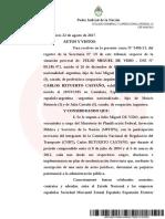 Ercolini elevó a juicio oral la causa contra Julio De Vido