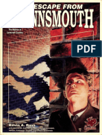 Call of Cthulhu RPG (1920s) - Escape From Innsmouth (2338)