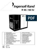 Ingersoll Rand EPE,XFE, HPE, HXPE Series Parts List