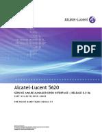 3HE06265AAABTQZZA01_V1_5620 SAM Release 8.0 R6 3GPP OSS Interface Developer Guide