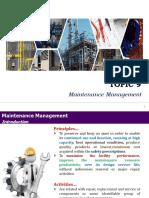 T9 Maintenance Management