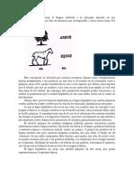 Saussure y El Signo Lingüístico