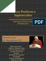Libros Poeticos - Sapienciales