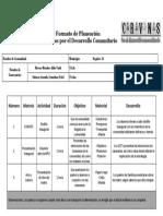 Formato de Planeación Diaria