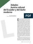 Las debilidades de la industria cultural del Ecuador y del Quito moderno
