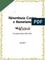 Advertência Contra o Sectarismo