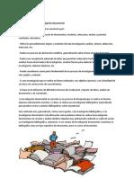 Características de La Investigación Documental