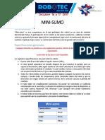 Lineamientos Mini Sumo