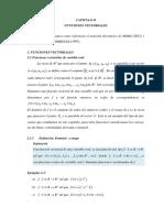 Cap II Funciones Vectoriales 1var