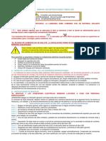 Manual de Instrucciones TUBOS