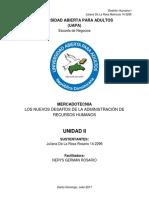 Universidad Abierta Para Adultos Gh Unidad II Juliana de La Rosa
