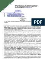 Constitucionalidad Habeas Corpus Cinco