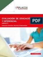 Evaluación de Educación Especial y Diferencial