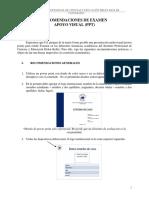 PROTOCOLO - Recomendaciones Power Point - 2016 - Versión Final