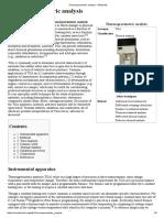 Thermogravimetric Analysis - Wikipedia