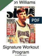 245397443 Jason Williams Signature Workout Program Hoophandbook Signature Workou Epub