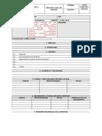 1. Formato Corporativo Actas de REUNIÓN