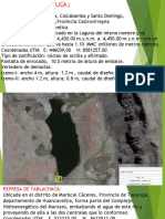 Presas Huancavelica y Pasco
