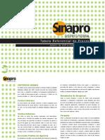 Tabela Sindicato 2011 - DF