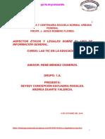 Aspectos Ético y Legales Sobre El Uso de Información Digital. (3)