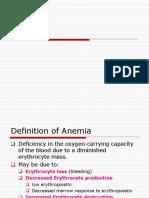 Anemia Ppt 3 Nov 2014