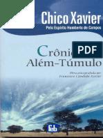 Crônicas de Além-Túmulo - Humberto de Campos - Chico Xavier