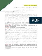 Sandoval Political Law Notes 2014