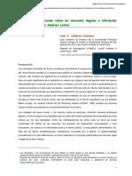 Algunas Consideraciones Sobre-el mercado urbano informal