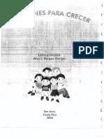 Canciones Para Crecer 25 Canciones Escolares Sobre Valores (Ana l. Vargas Dengo)