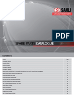 Sanli Complete Spare Parts Catalogue