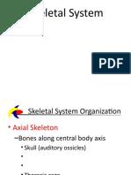 SED Ch 8 Skeletal System BioSci 204 Spr 2015