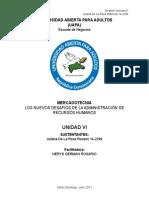 Universidad Abierta Para Adultos Gh Unidad Vi Juliana de La Rosa
