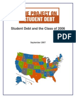 Student Debt and the Class of 2006