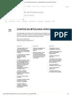 Plano - Contos Da Mitologia Africana