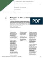As Imagens Da África No Cinema Norteamericano