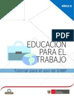 M3_B2_MAT. ESTUDIO_Turtorial Para El Uso de Gimp
