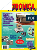 Electronica y Servicio N°77-Nuevos formatos en tecnologias en camaras de video.pdf