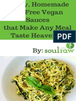3 Oil Free Vegan Sauces
