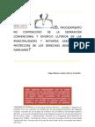 EL PROCEDIMIENTO NO CONTENCIOSO DE LA SEPARACIÓN CONVENCIONAL Y DIVORCIO ULTERIOR EN LAS MUNICIPALIDADES Y NOTARÍAS ASEGURA LA
