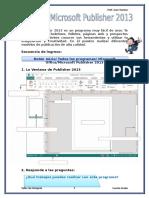 Clase de Cuarto Grado - Microsoft Publisher 2013