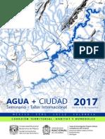 AFICHEMEDIOPLIEGO_Agua+Ciudad 2017.1