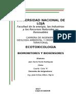 BIOMONITORES Y BIOSENSORES