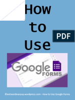 How to Use Google Forms