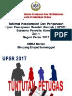 Tuntutan Pengawas UPSR 2017