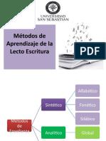 Metodos de Aprendizaje de la Lecto Escritura.pptx