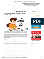 """PE Exam Prep Guide_ How You Can Pass the PE Exam Without Having to Study """"Everything"""""""
